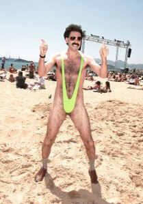 Borat in his mankini